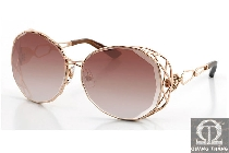 Swarovski Brilliant Gold Sunglasses